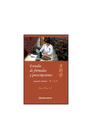 Estudio de prescripciones y fórmulas (segundo volumen)